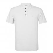 Camisa Polo John John Simple Basic Branca
