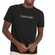 Camiseta Calvin Klein Masculina Flame Preto