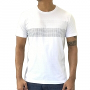 Camiseta Calvin Klein MC Mini Logo Branca