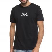 Camiseta Oakley  Masculina Bark New Tee Preto