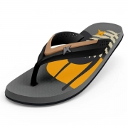 Chinelo Kenner Masculino Hi-Tide Abstract Cinza