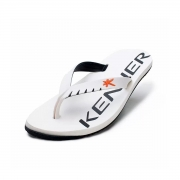 Chinelo Kenner Masculino Red Colors Branco