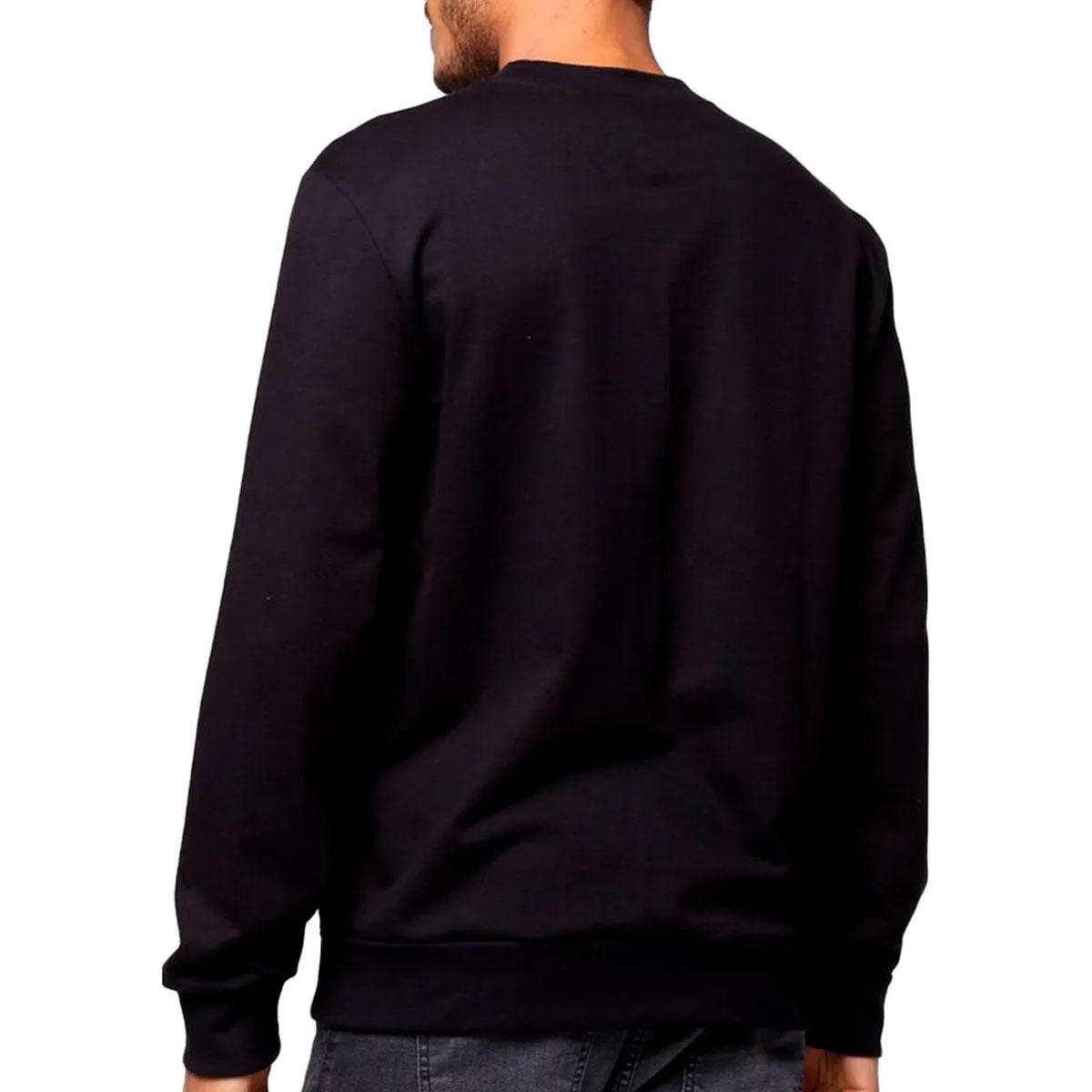 Blusa de Moletom Calvin Klein Embossing Preto