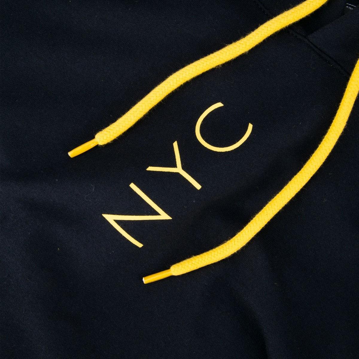 Blusa de Moletom New era Simple Sign NYC Preto