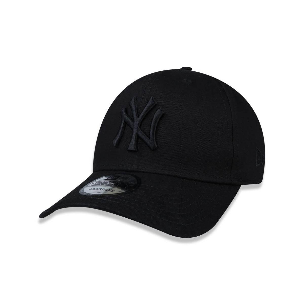 Boné New Era 940 Yankees Logo Preto