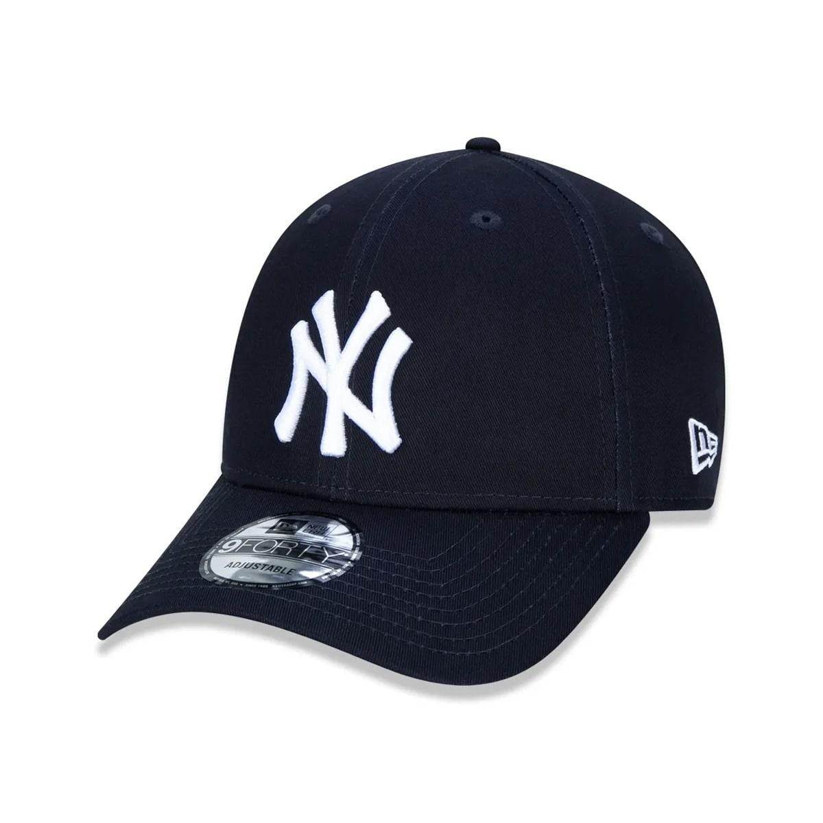 Boné New Era 940 Yankees Marinho