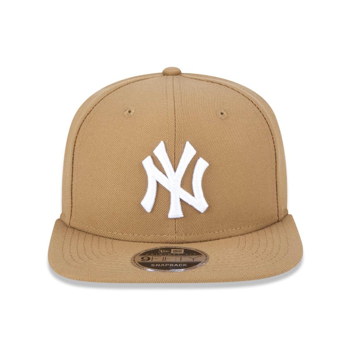Boné New Era Aba Reta Yankees Bege