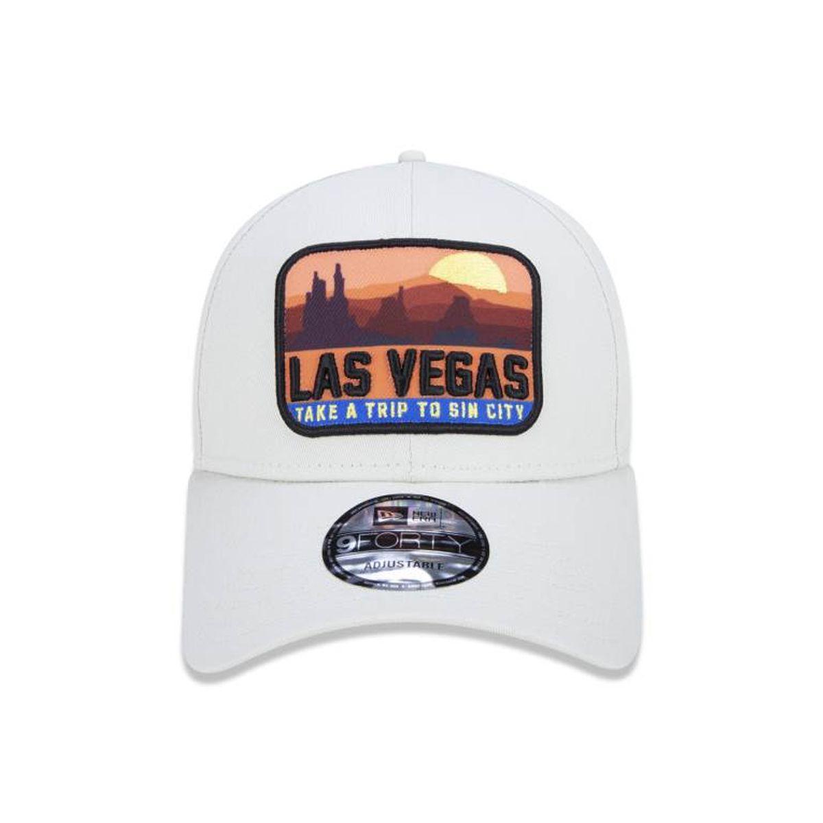 Boné New Era Las Vegas Bege