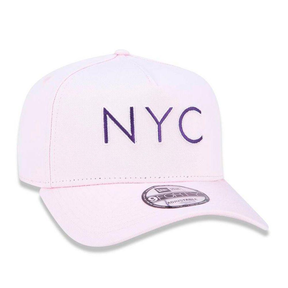 Boné New Era Masculino NYC Rosa