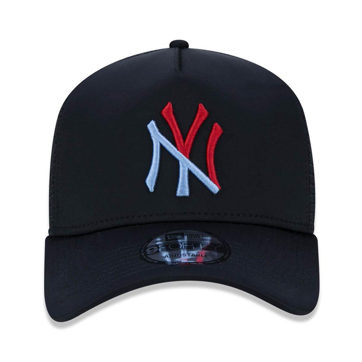 Boné New Era Masculino Logo Colors Yankees Preto