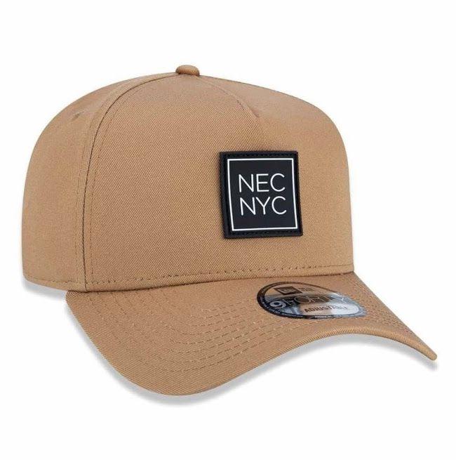 Boné New Era Masculino NEC NYC Marrom