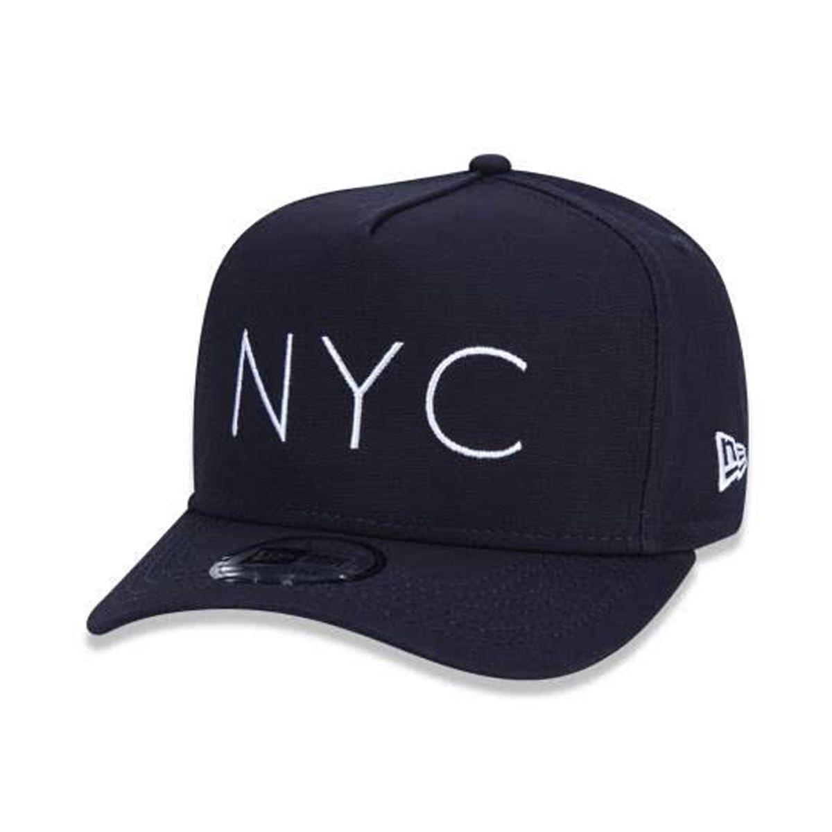 Boné New Era Masculino NYC Azul Marinho