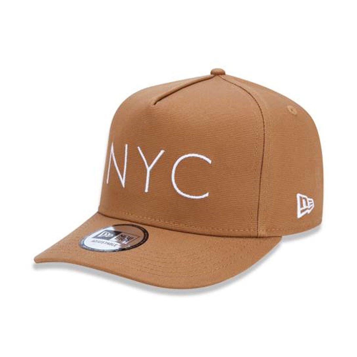 Boné New Era Masculino NYC Marrom