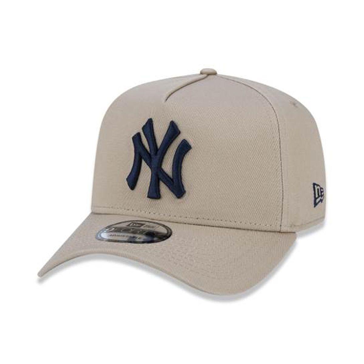 Boné New Era Masculino Yankees Bege