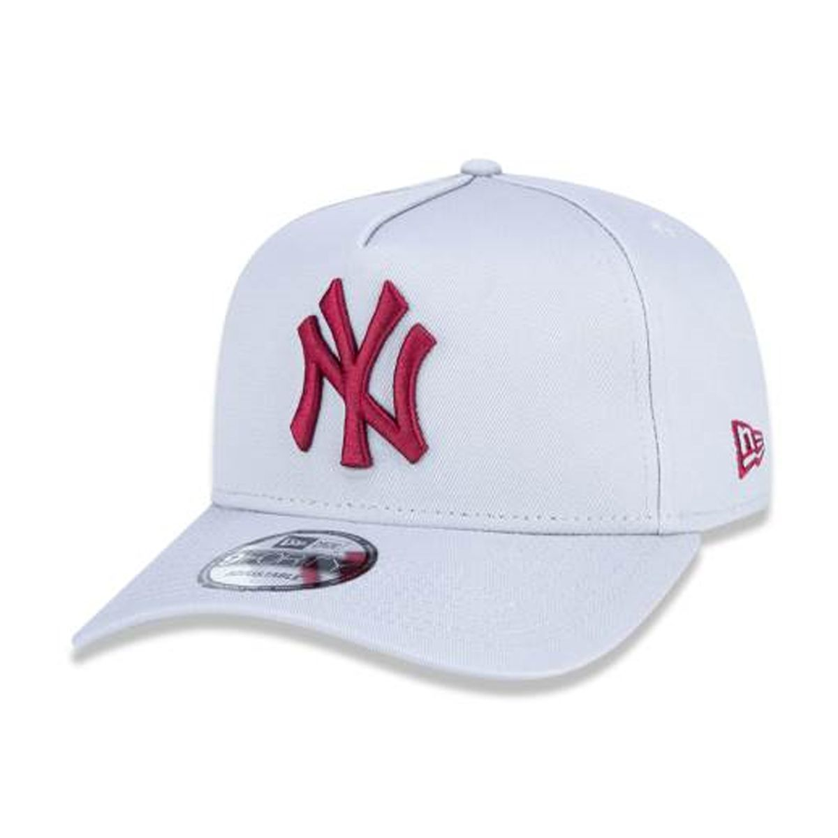 Boné New Era Masculino Yankees Cinza
