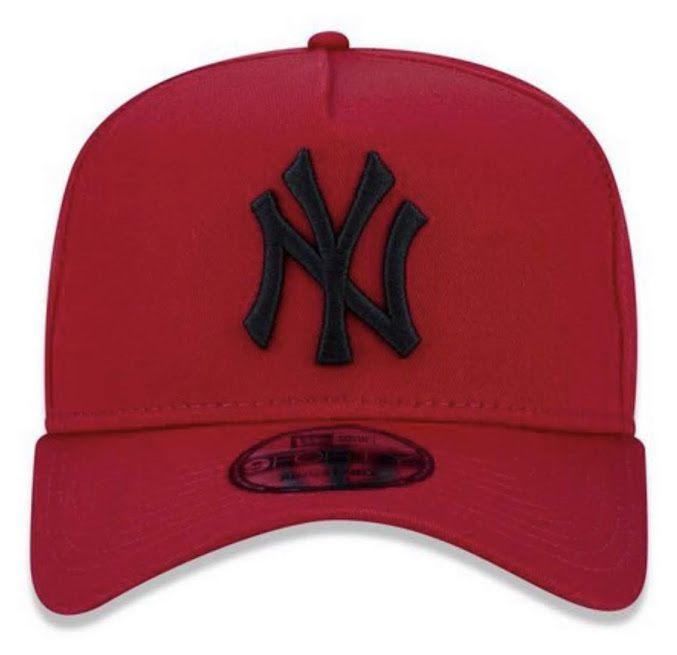 Boné New Era Masculino Yankees Vermelho
