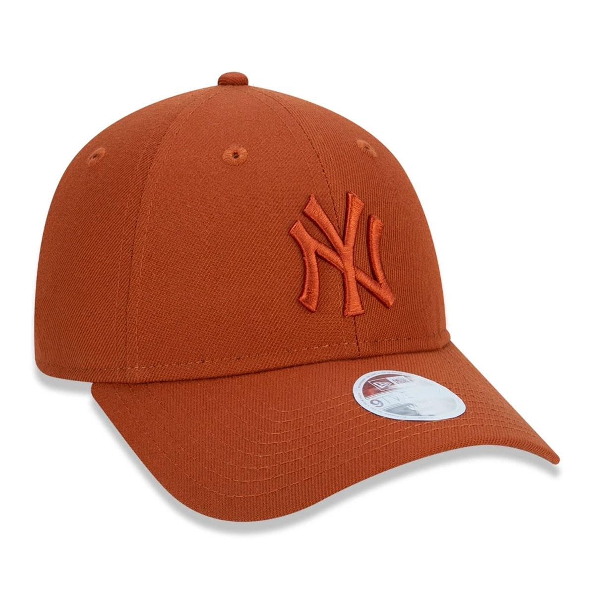 Boné New Era Micro Logo Yankees Laranja