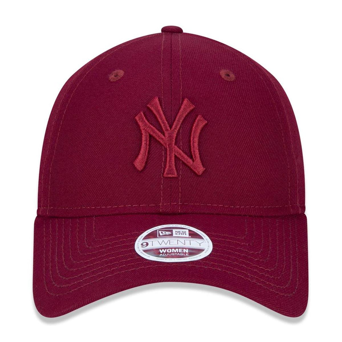Boné New Era Micro Logo Yankees Vinho