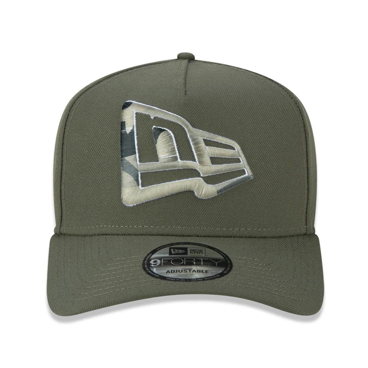 Boné New Era Military Branded Verde