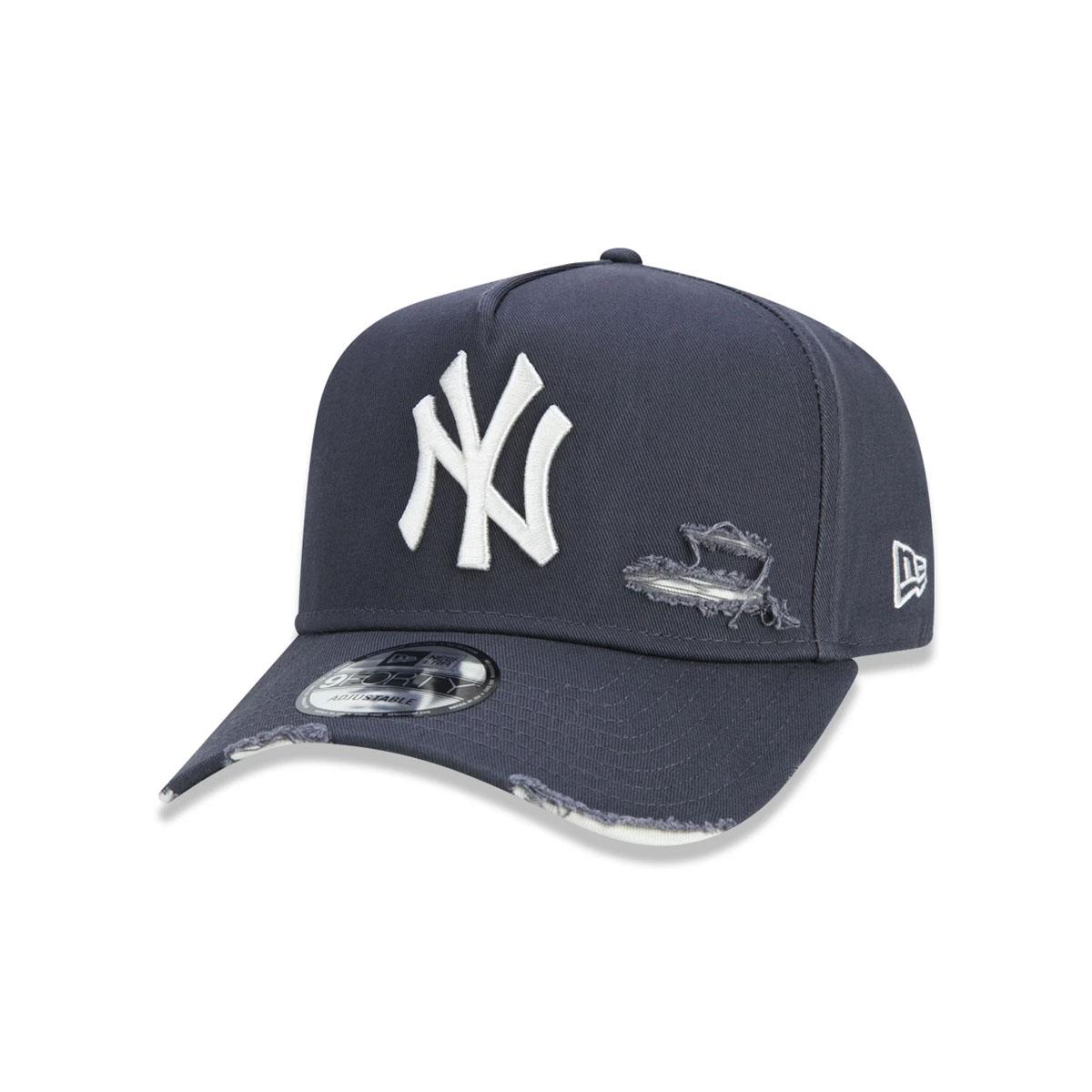 Boné New Era New York Yankees Destroyed Cinza