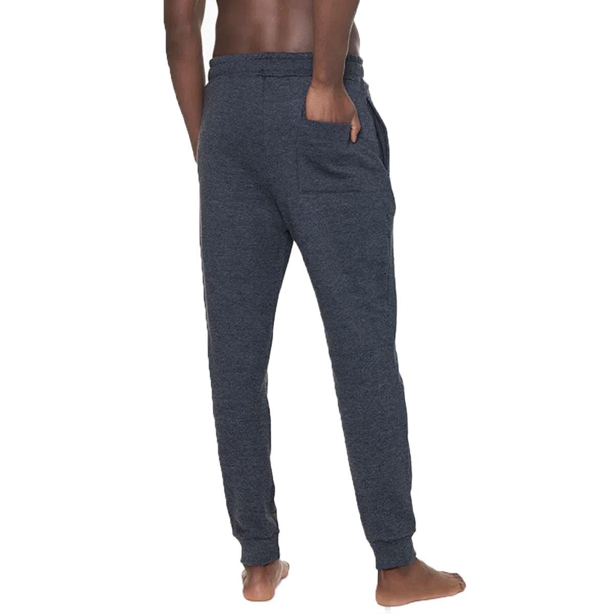 Calça de Moletom Calvin Klein Graphic Logo Loungewear Cinza