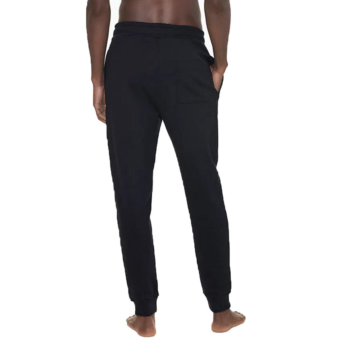 Calça de Moletom Calvin Klein Graphic Logo Loungewear Preto