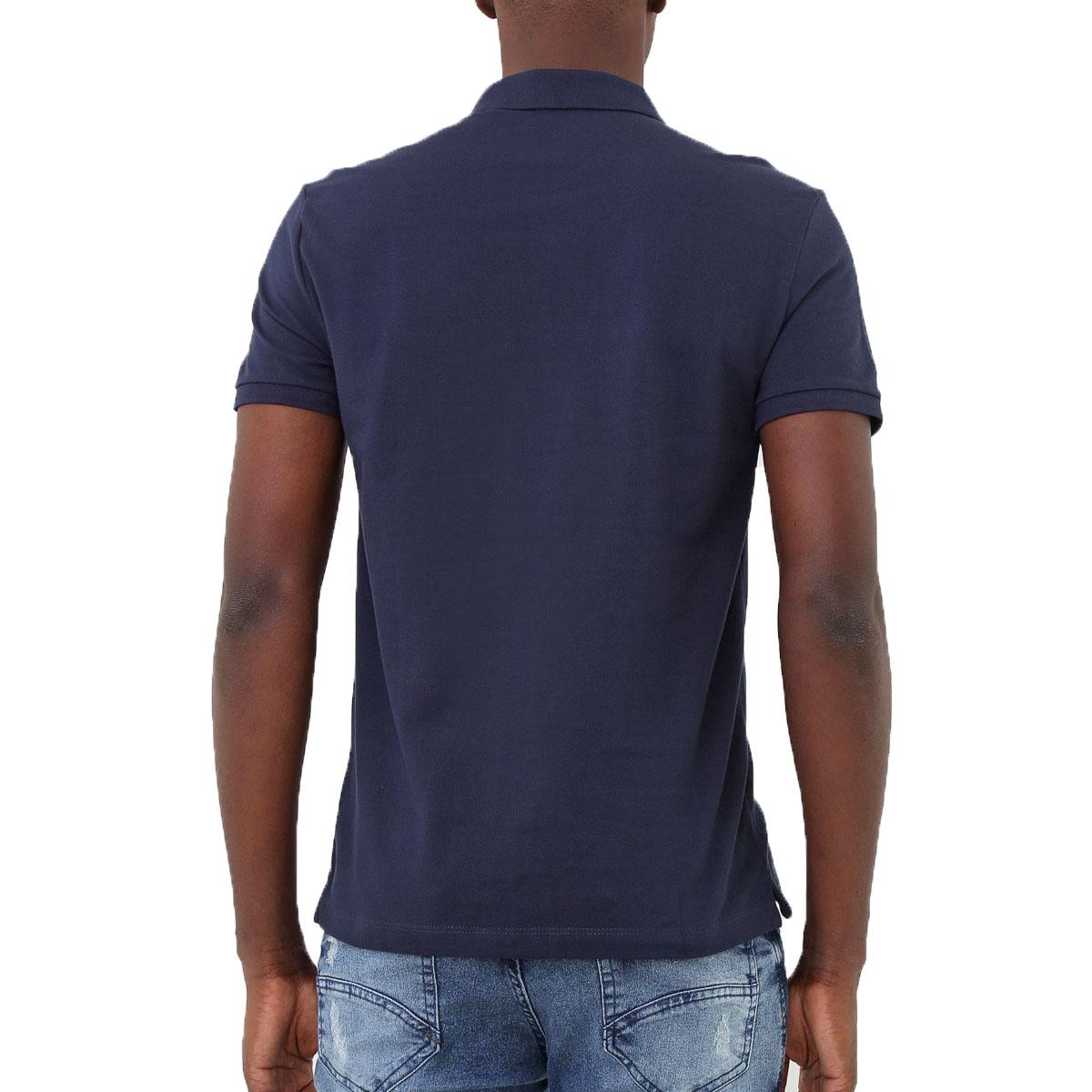 Camisa Polo Calvin Klein Regular Azul
