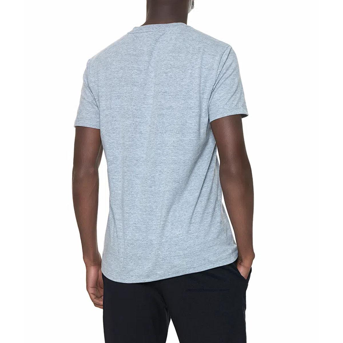 Camiseta Calvin Klein Logo Loun Cinza Mescla