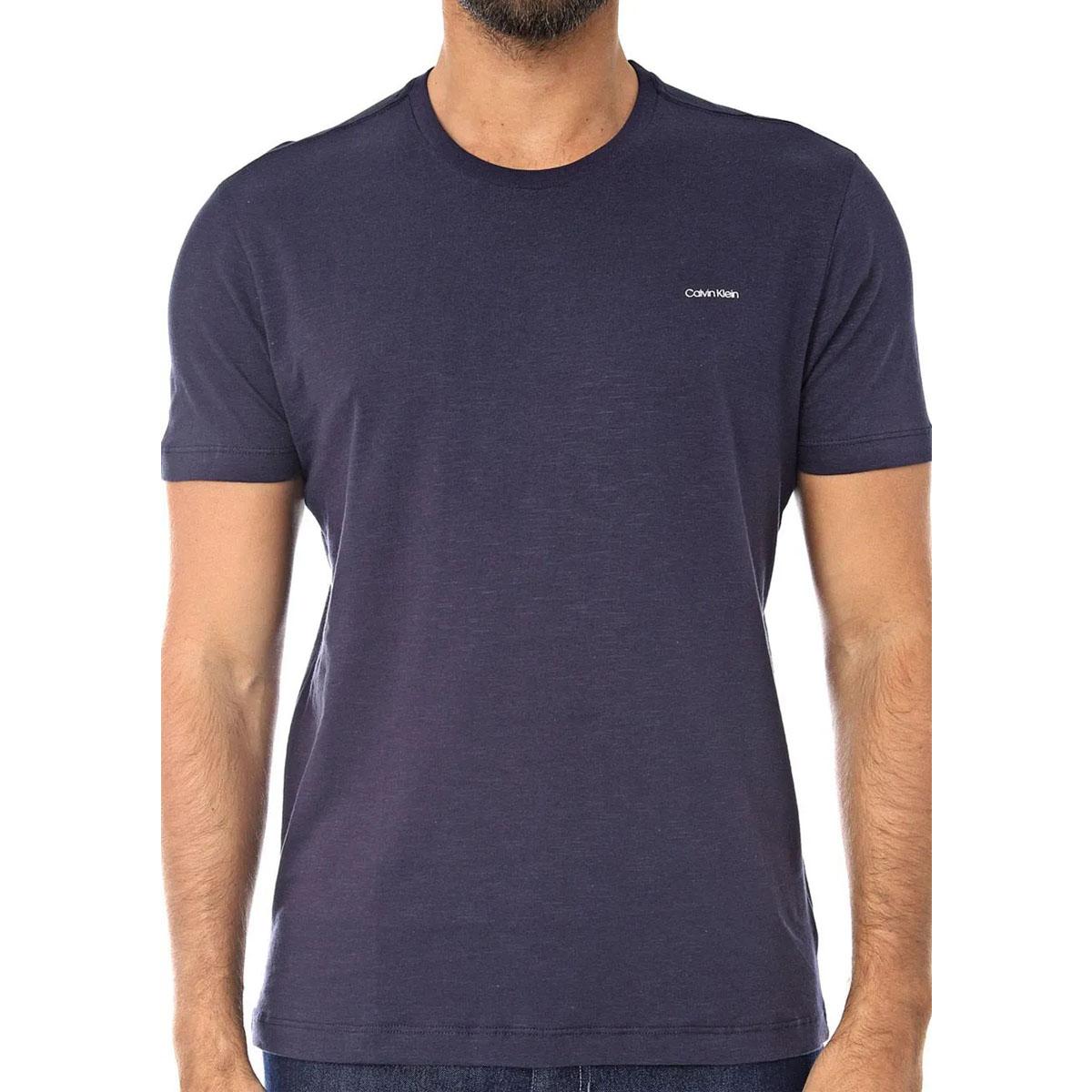 Camiseta Calvin Klein Masculina Flame Indigo
