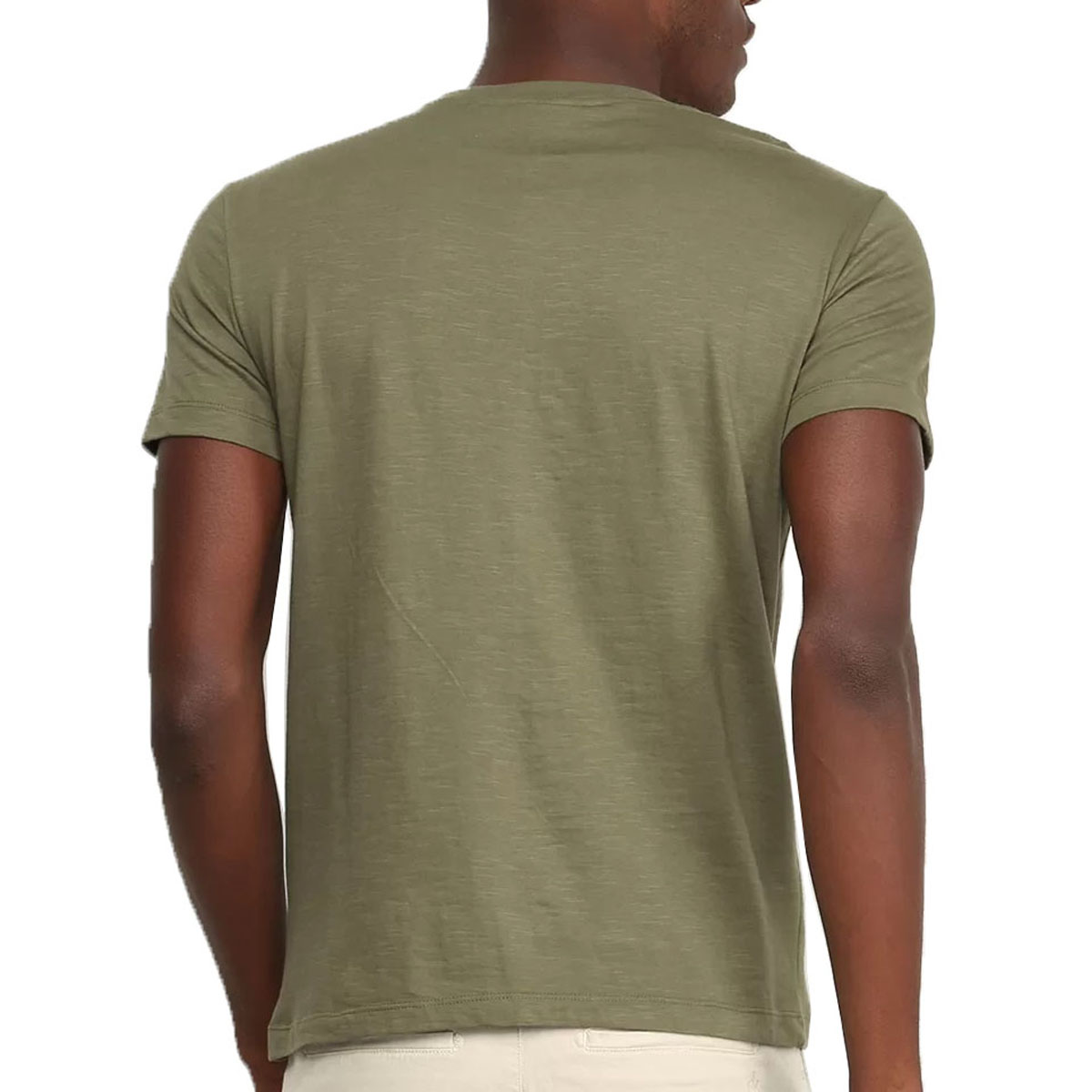 Camiseta Calvin Klein Masculina Flame Verde