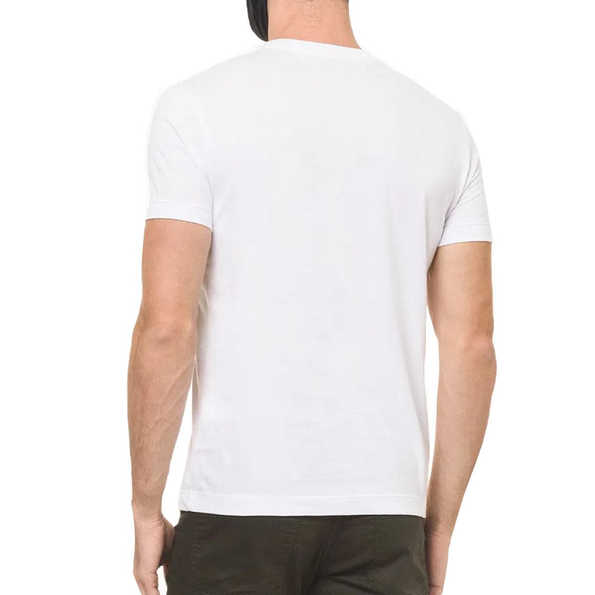 Camiseta Calvin Klein MC Slim Silk Branca