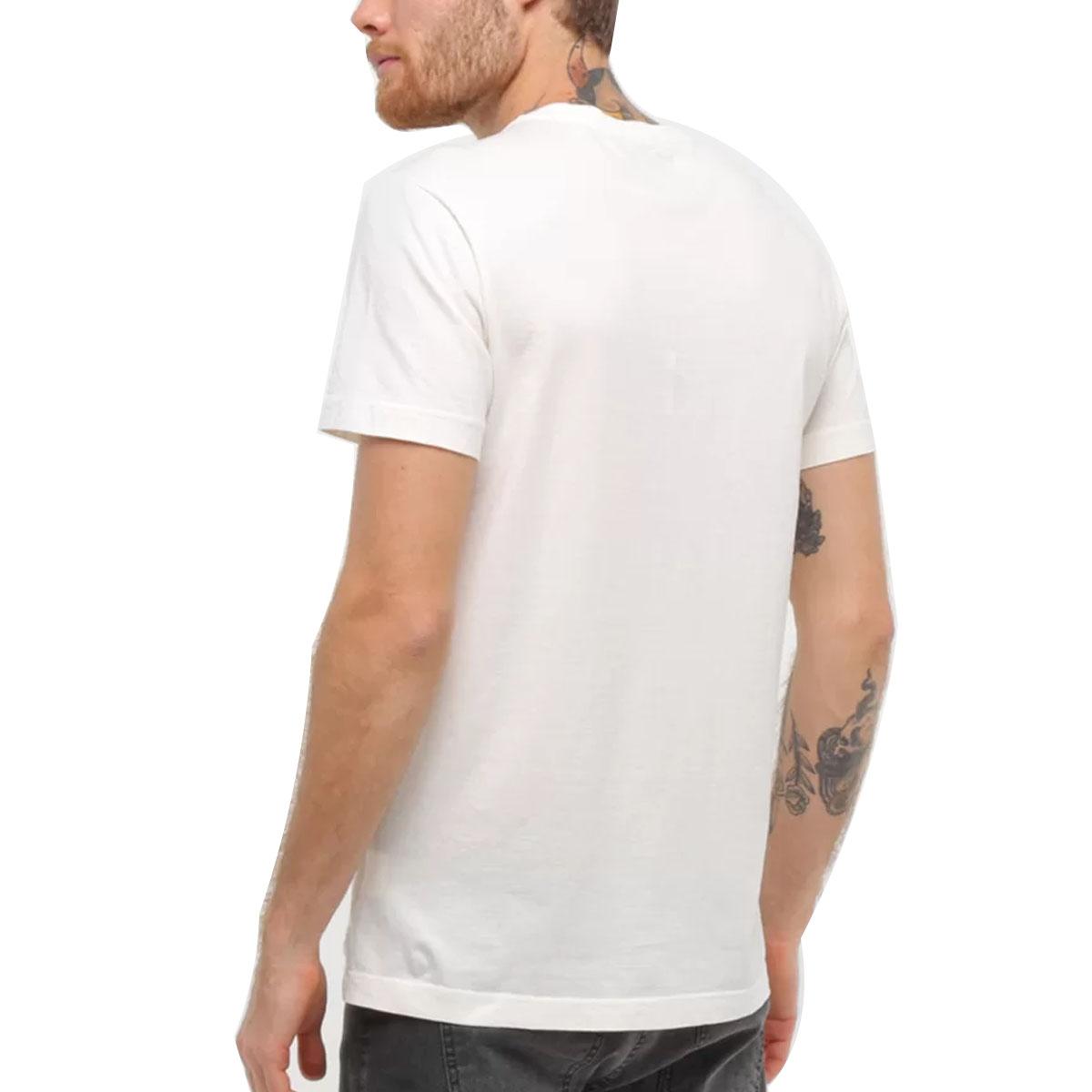 Camiseta Calvin Klein Slim Underline Branco