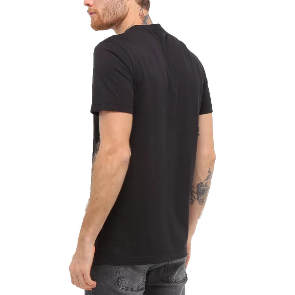 Camiseta Calvin Klein Slim Underline Preto
