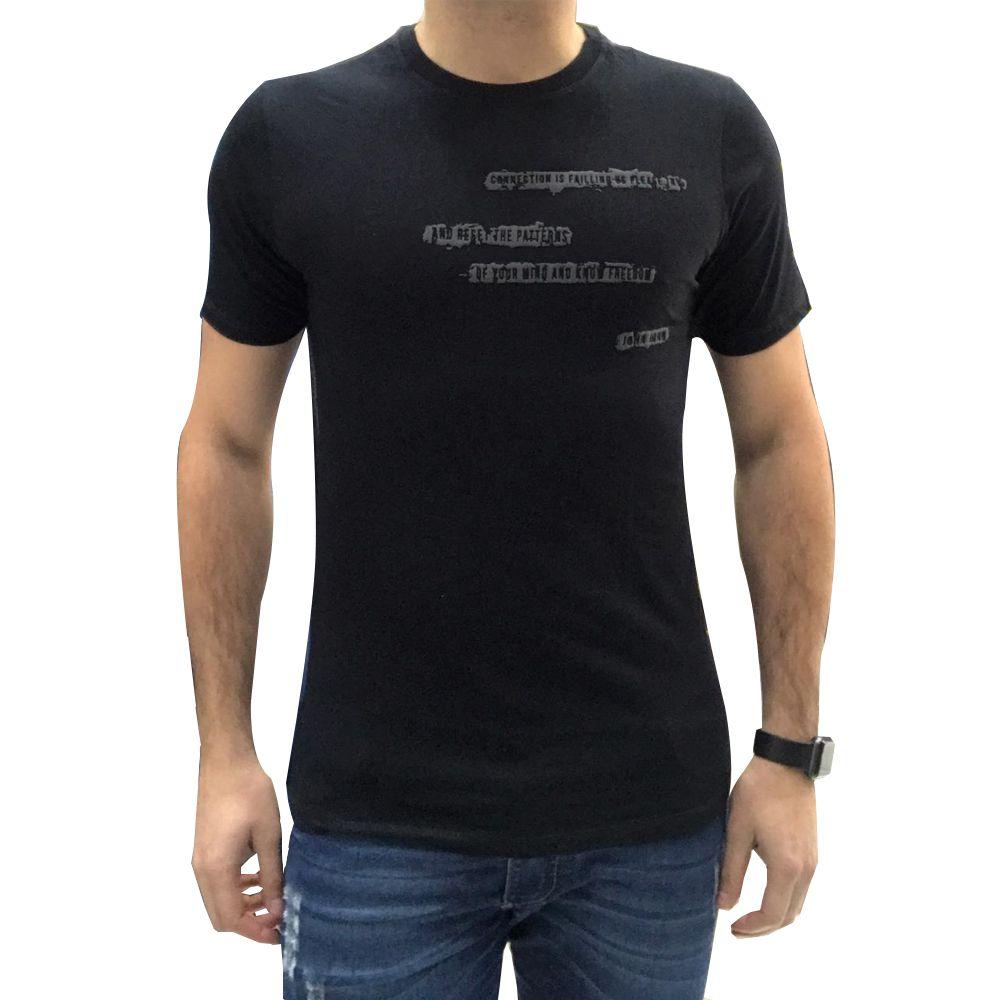 Camiseta John John Masculina Reconnect