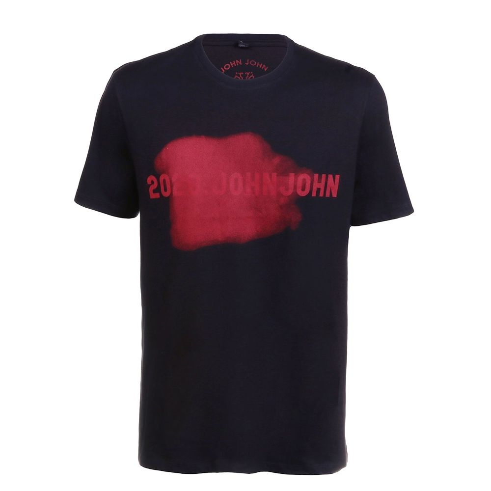 Camiseta John John Masculina Red Smudg