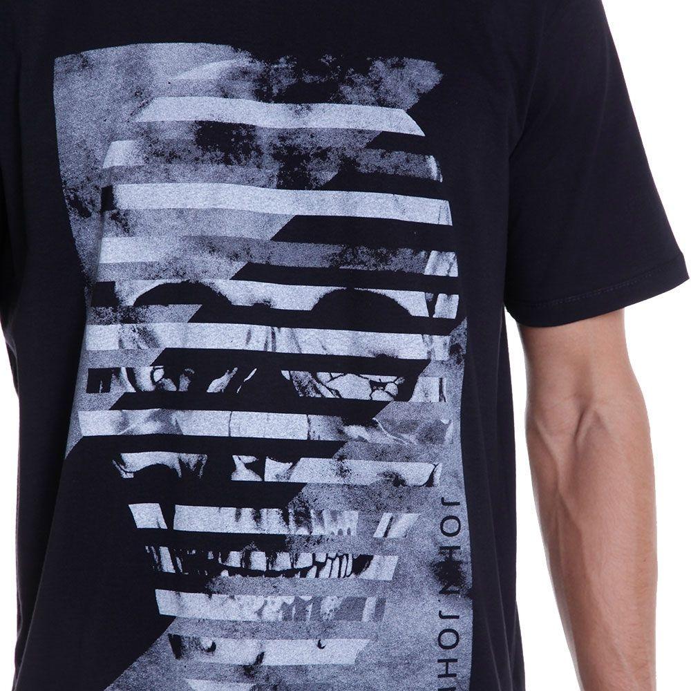Camiseta John John Masculina Skull Sli