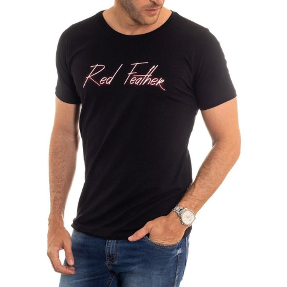 Camiseta Red Feather Masculina Neon