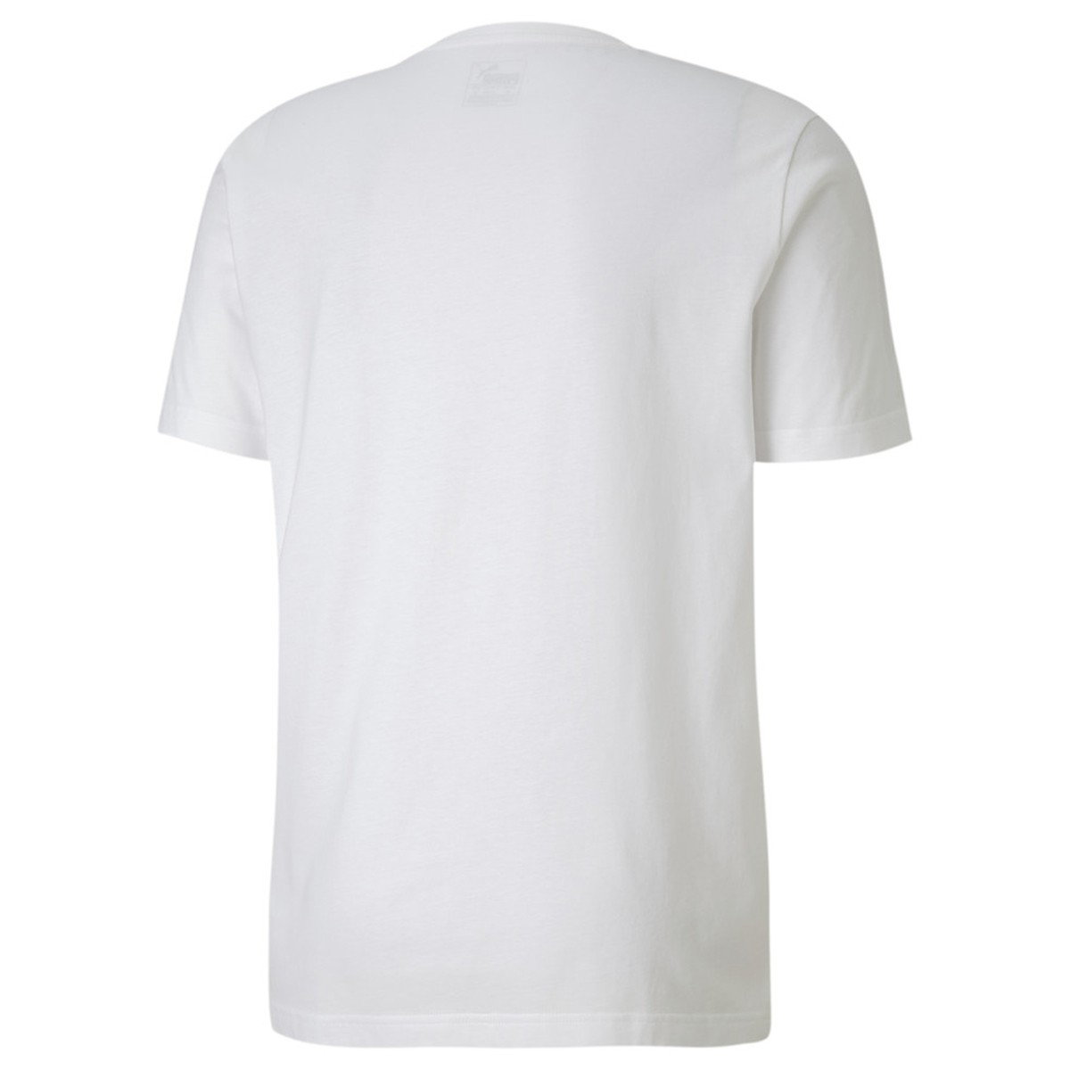 Camiseta Puma Masculina Flock Graphic Tee Branca