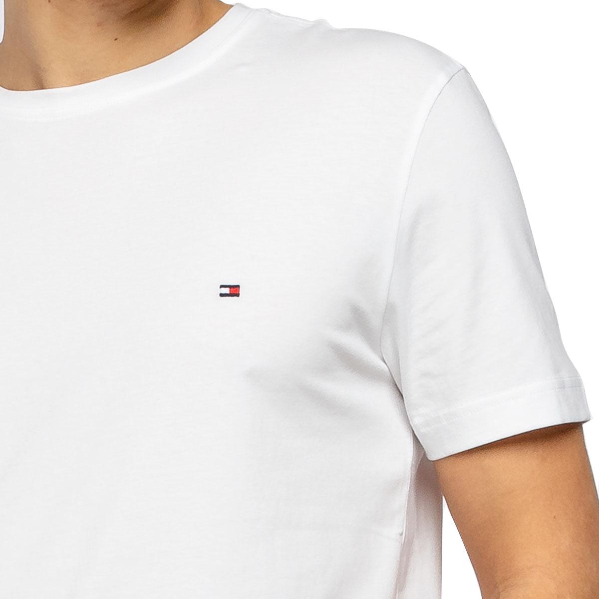 Camiseta Tommy Hilfiger Essential Cotton Tee Branca