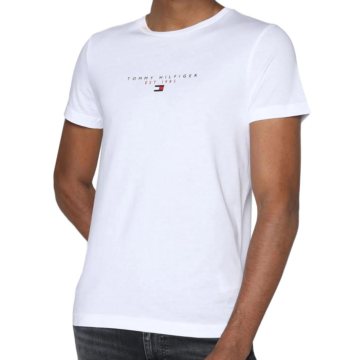 Camiseta Tommy Hilfiger Essential Tee Branca