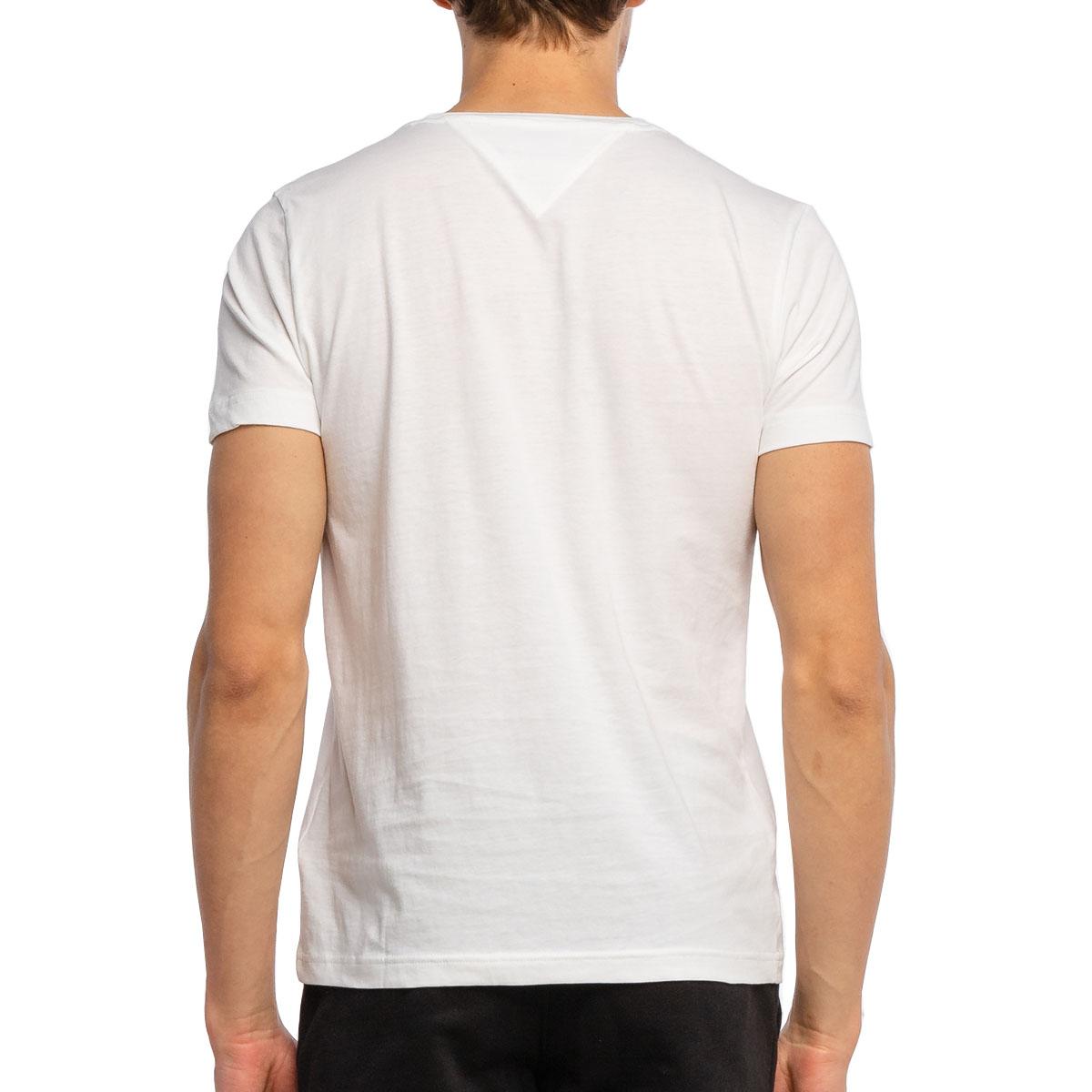 Camiseta Tommy Hilfiger logo Box Tee Branca