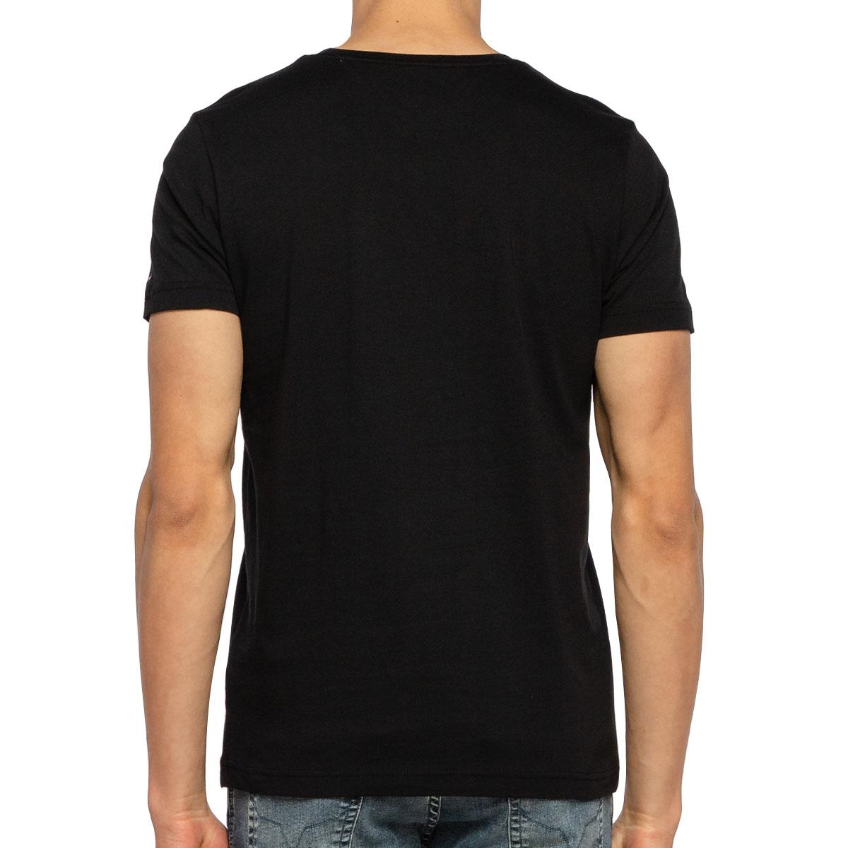 Camiseta Tommy Hilfiger logo Box Tee Preta