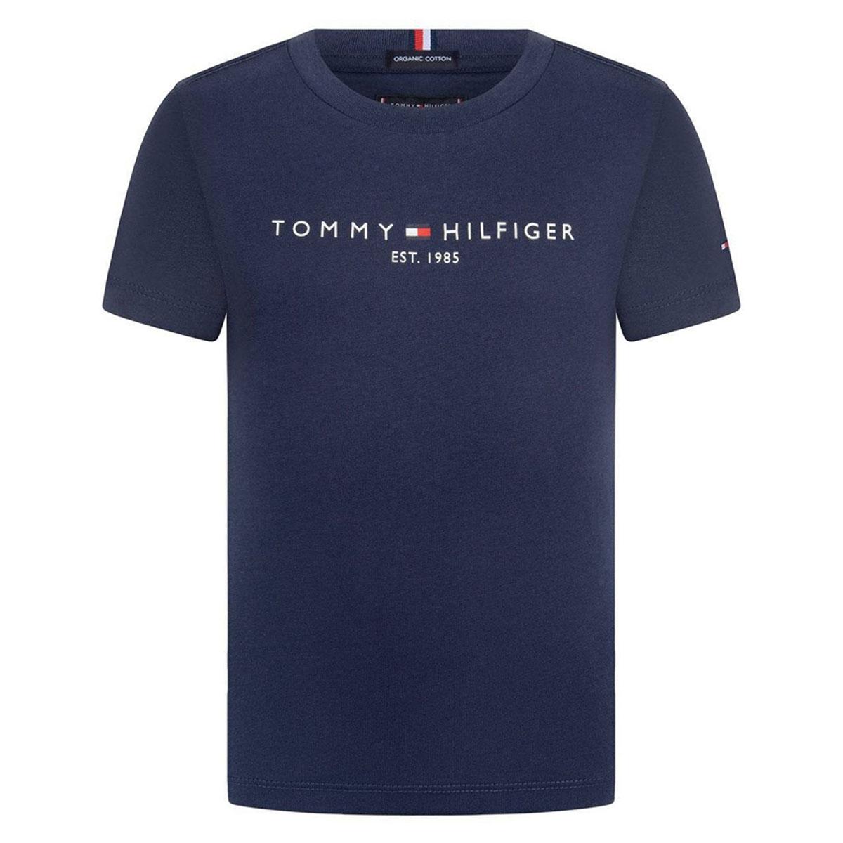 Camiseta Tommy Hilfiger Logo Tee Azul