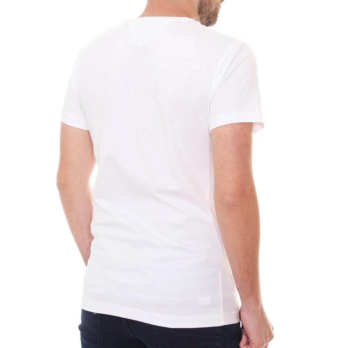 Camiseta Tommy Hilfiger Small Chest Box Branco