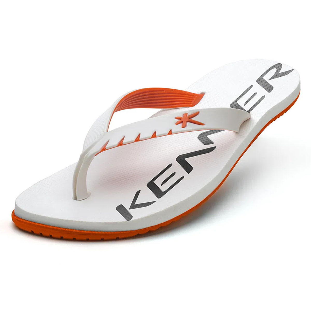 Chinelo Kenner Masculino Red Branco