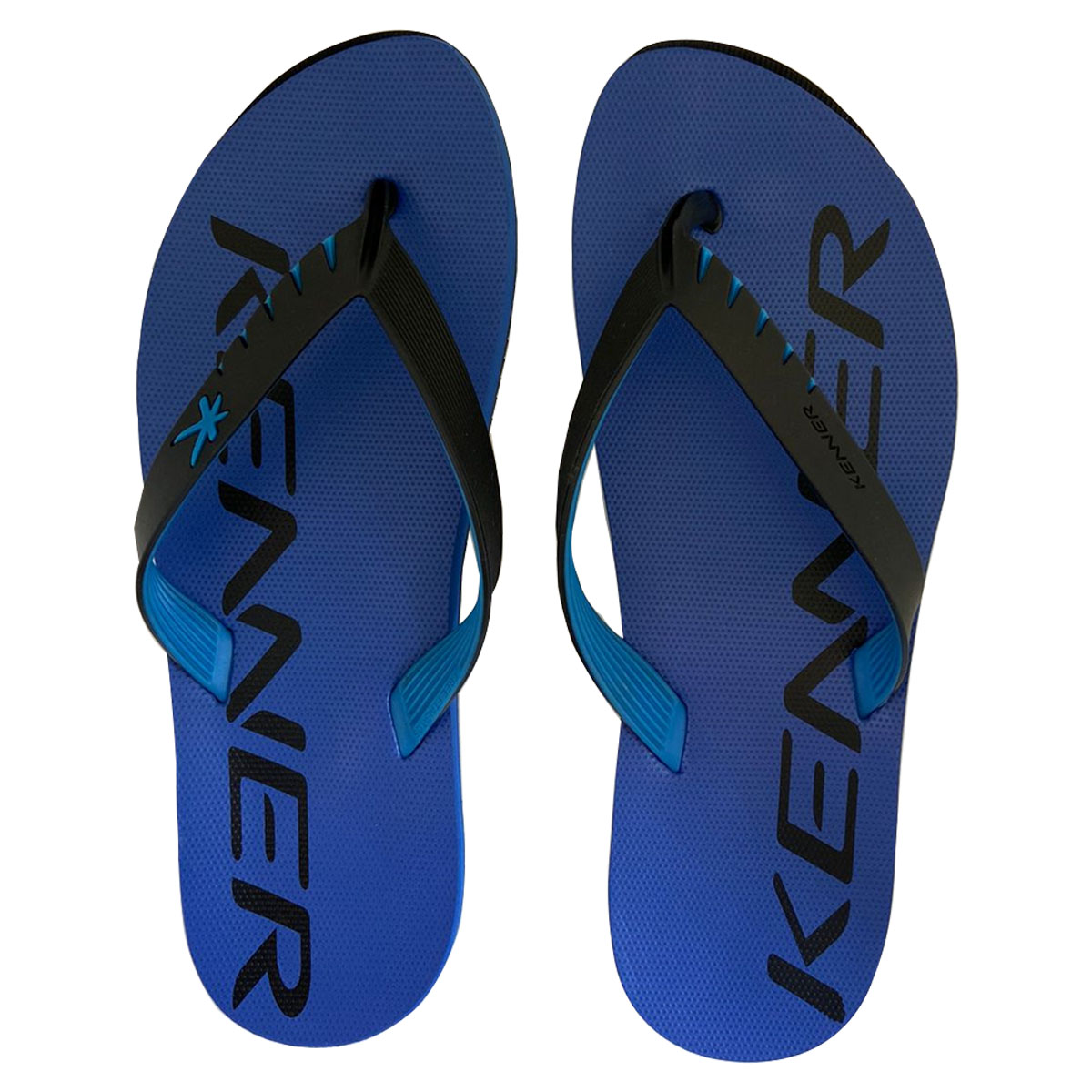 Chinelo Kenner Masculino Red Mixed Azul