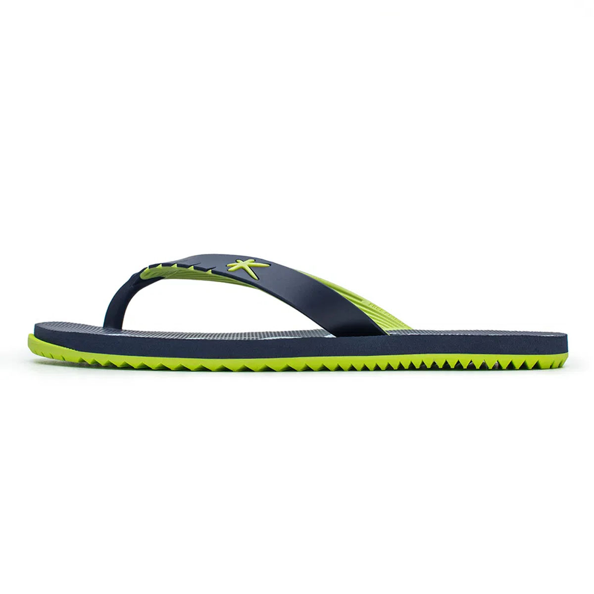Chinelo Kenner Masculino Red Mixed Verde Neon