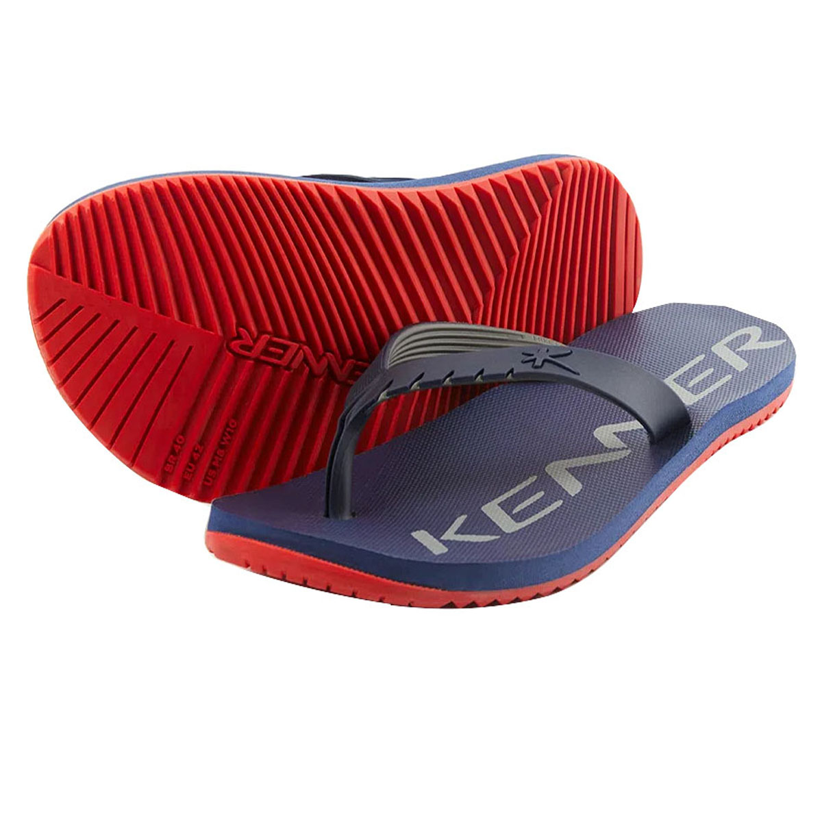 Chinelo Kenner Masculino Red Neutral Azul