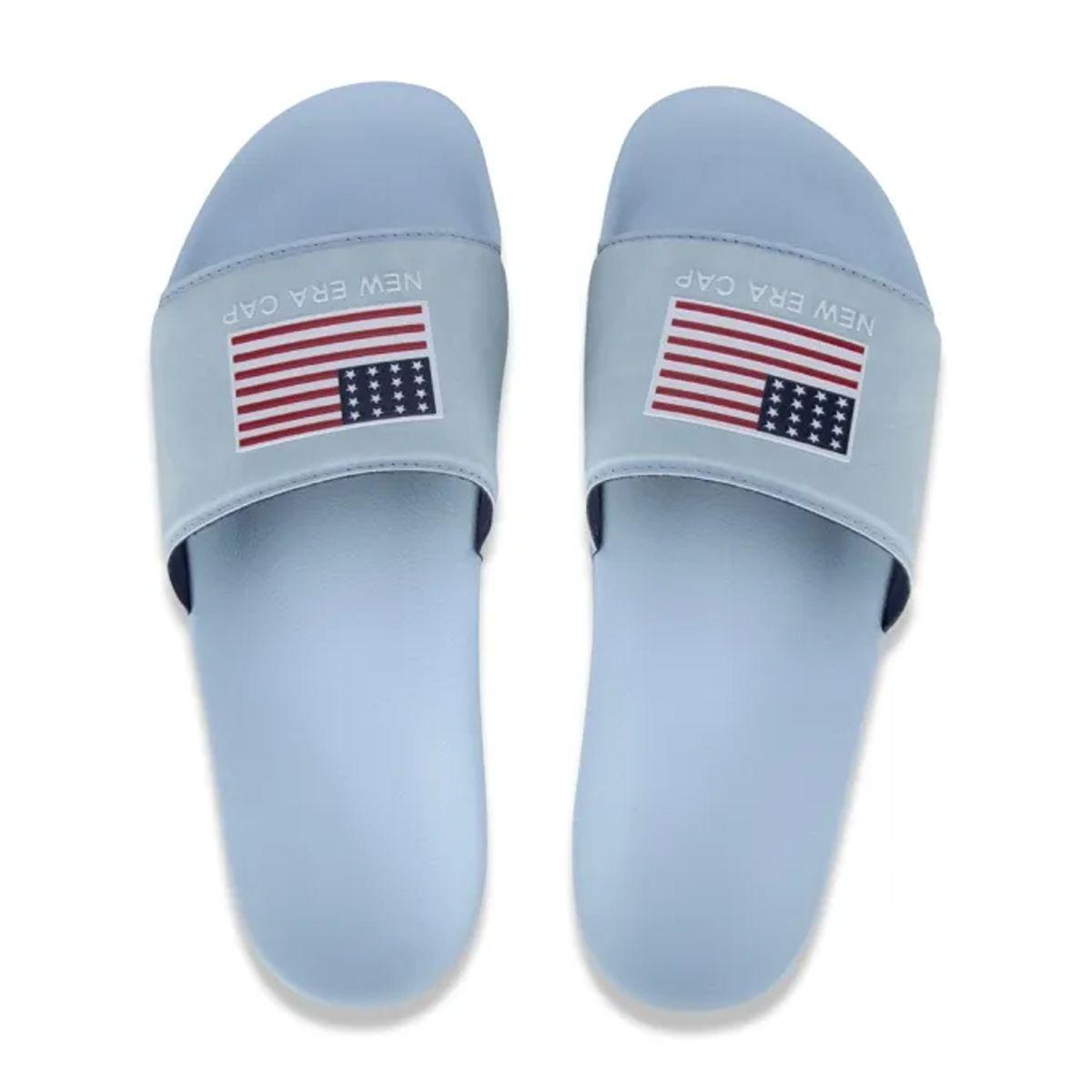 Chinelo New Era Slide Flag EUA Azul