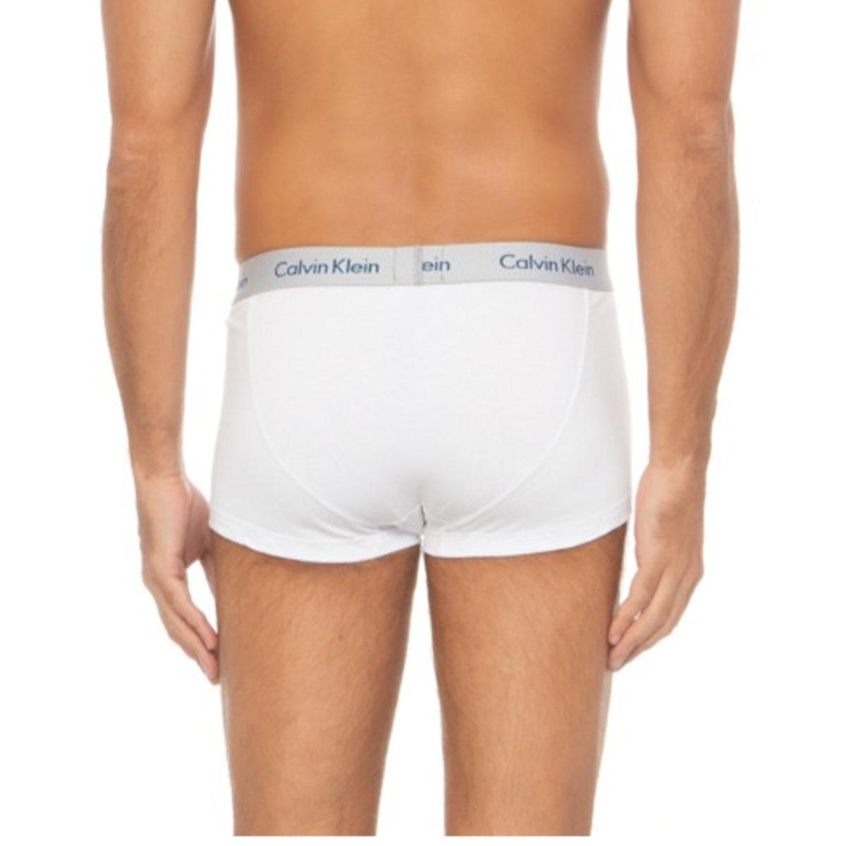 Kit 3 Cuecas Boxer Calvin Klein Azul